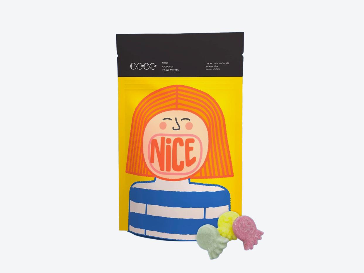 Coco Chocolatier Gummies - Sour Octopus