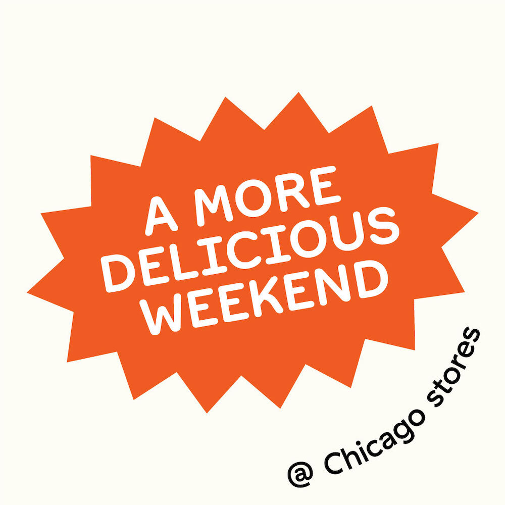 A More Delicious Weekend
